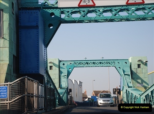 2012-04-06 Travelling over Poole Twin Sales New Bridge & the Old Bridge.  (2)300