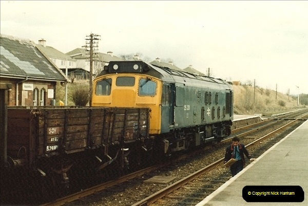 1983-03-27 to 01-04. On the Settlke & carlisle.  (52)099