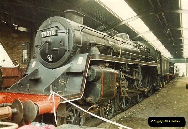 1983-03-29 At the Keithley & Worth Valley Railway.  (5)105