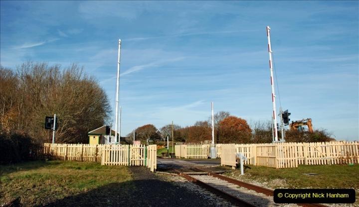 2019-11-28 The SR no running day Swanage to Wareham. (176) Norden. 176
