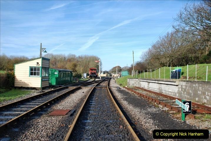 2019-11-28 The SR no running day Swanage to Wareham. (186) Norden. 186