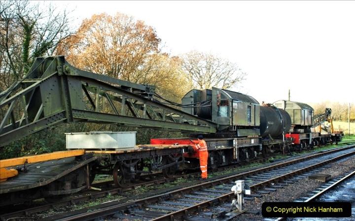 2019-11-28 The SR no running day Swanage to Wareham. (194) Norden. 194
