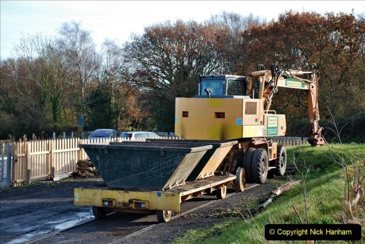 2019-11-28 The SR no running day Swanage to Wareham. (200) Norden. 200