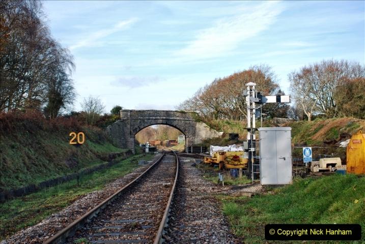 2019-11-28 The SR no running day Swanage to Wareham. (201) Norden. 201
