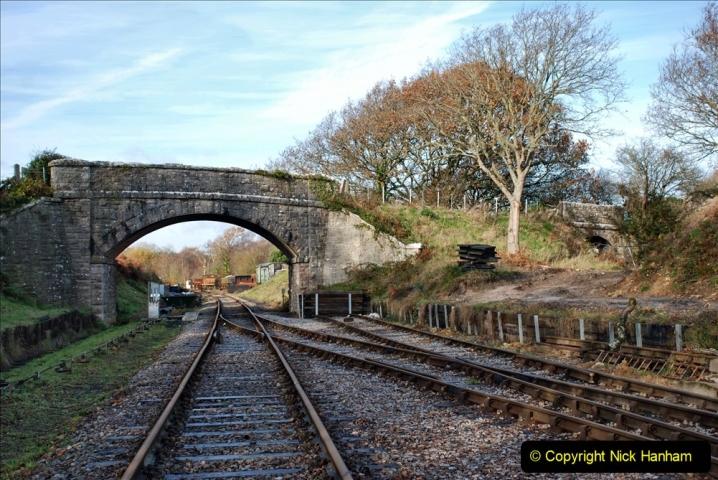 2019-11-28 The SR no running day Swanage to Wareham. (202) Norden. 202