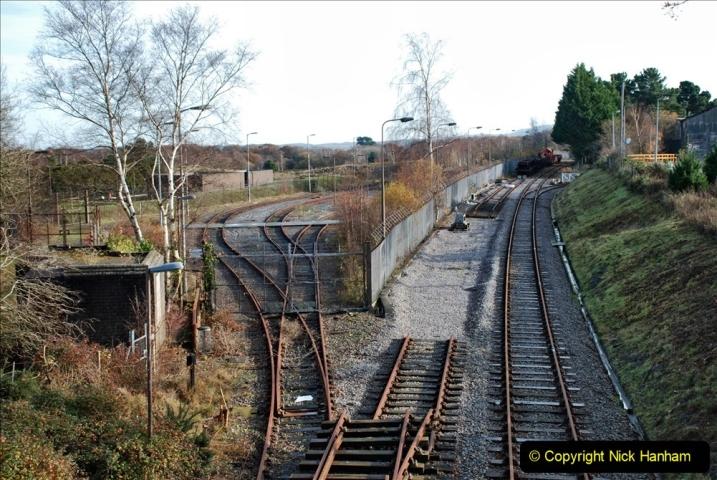 2019-11-28 The SR no running day Swanage to Wareham. (208) Fursbrook. 208