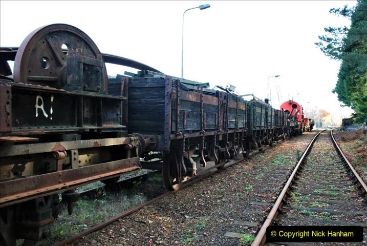 2019-11-28 The SR no running day Swanage to Wareham. (212) Fursbrook. 212