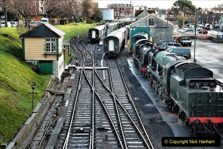 2019-11-28 The SR no running day Swanage to Wareham. (30) 030