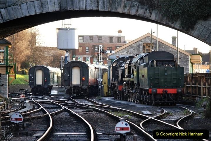 2019-11-28 The SR no running day Swanage to Wareham. (39) 039