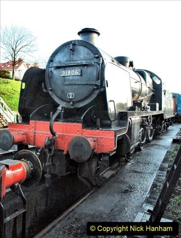 2019-11-28 The SR no running day Swanage to Wareham. (48) 048