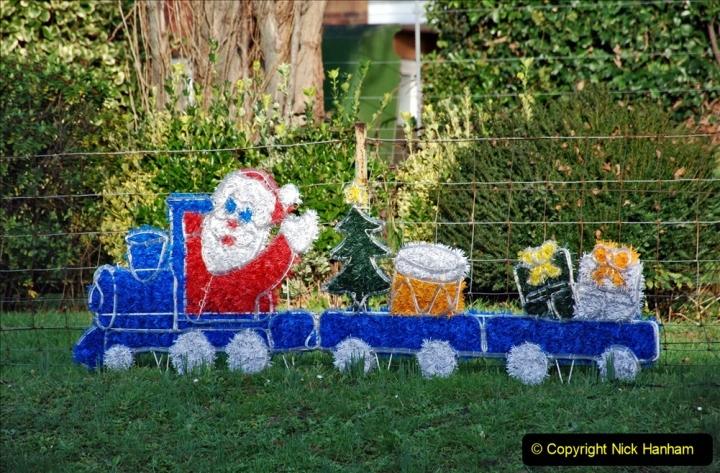 2019-11-28 The SR no running day Swanage to Wareham. (65) Santa Specials Preparations. 065