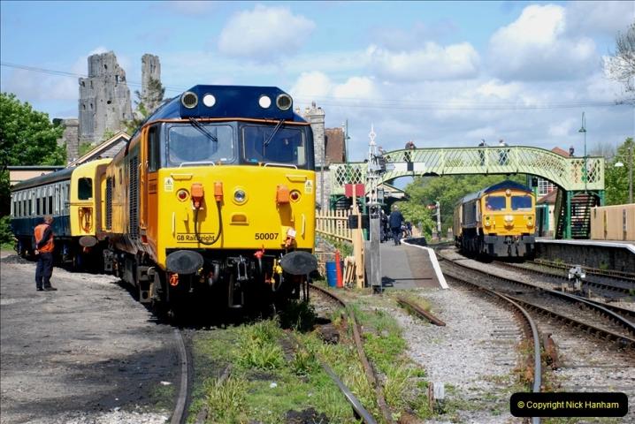 2019-05-10 Swanage Railway Spring Diesel Gala. (120)