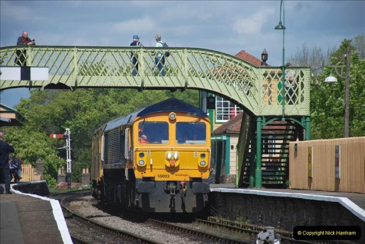 2019-05-10 Swanage Railway Spring Diesel Gala. (121)