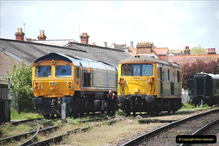 2019-05-10 Swanage Railway Spring Diesel Gala. (154)