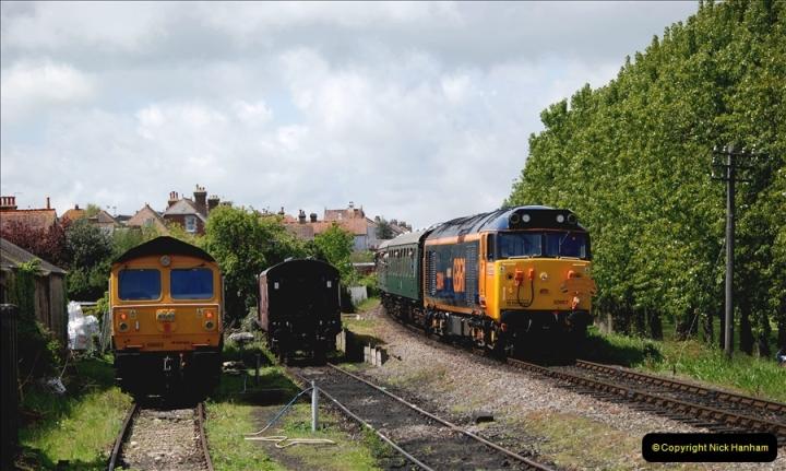 2019-05-10 Swanage Railway Spring Diesel Gala. (170)