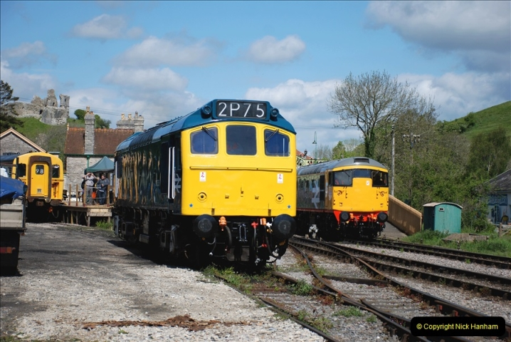 2019-05-10 Swanage Railway Spring Diesel Gala. (97)