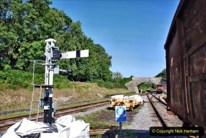 2020-06-23 Swanage Railway still in lockdown. (13) Norden. 013