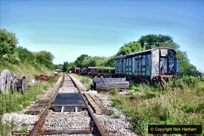 2020-06-23 Swanage Railway still in lockdown. (18) Norden. 018