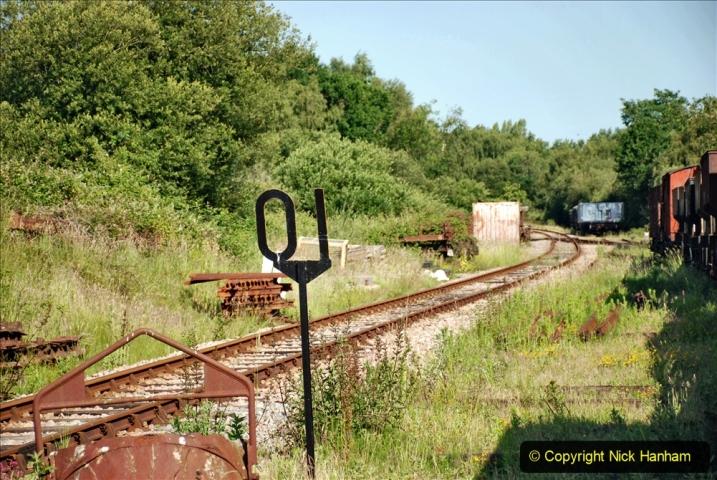 2020-06-23 Swanage Railway still in lockdown. (21) Norden. 021