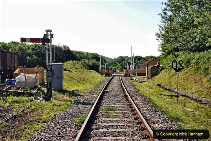 2020-06-23 Swanage Railway still in lockdown. (23) Norden. 023