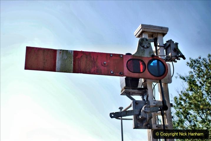 2020-06-23 Swanage Railway still in lockdown. (24) Norden. 024