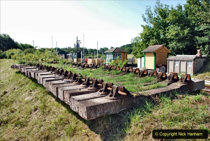 2020-06-23 Swanage Railway still in lockdown. (25) Norden. 025