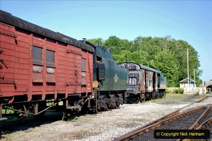 2020-06-23 Swanage Railway still in lockdown. (29) Norden. 029