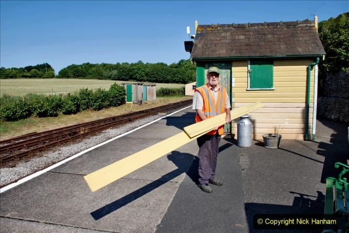 2020-06-23 Swanage Railway still in lockdown. (33) Norden. 033