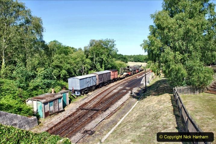 2020-06-23 Swanage Railway still in lockdown. (43) Norden. 043
