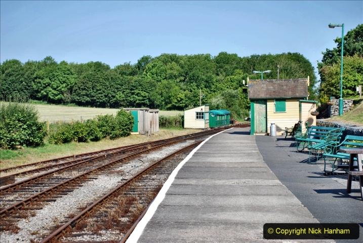 2020-06-23 Swanage Railway still in lockdown. (44) Norden. 044