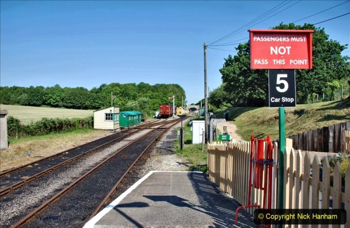 2020-06-23 Swanage Railway still in lockdown. (47) Norden. 047