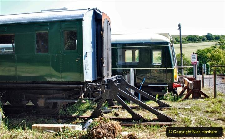 2020-06-23 Swanage Railway still in lockdown. (69) Corfe Castle. 069