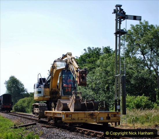 2020-06-23 Swanage Railway still in lockdown. (72) Corfe Castle. 072