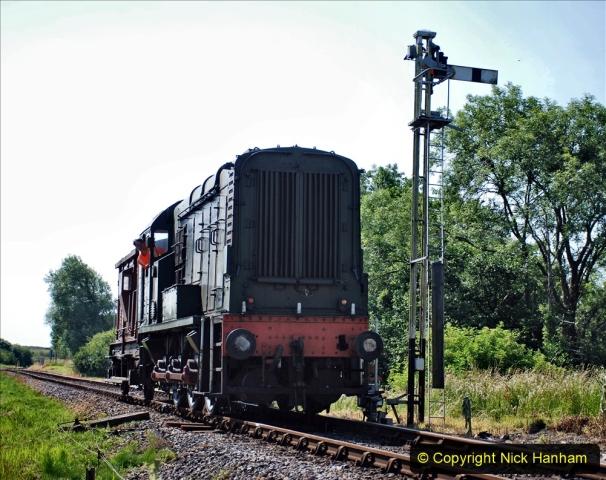 2020-06-23 Swanage Railway still in lockdown. (73) Corfe Castle. 073