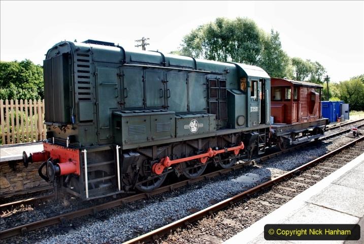 2020-06-23 Swanage Railway still in lockdown. (77) Corfe Castle. 077