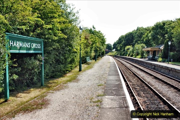 2020-06-23 Swanage Railway still in lockdown. (94) Harmans Cross. 094