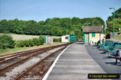 2020-06-23 Swanage Railway still in lockdown. (44) Norden. 044