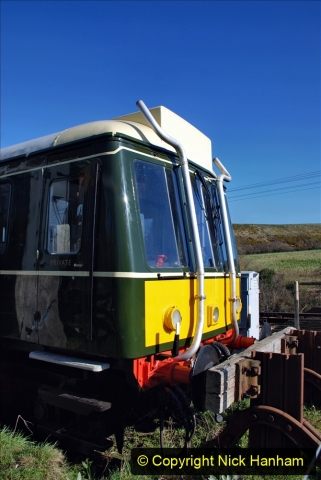 2020-03-16 The Swanage Railway. (10) The restored 3 car DMU back on the SR. 010