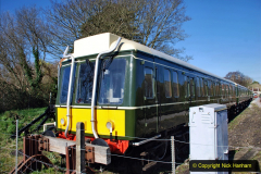 2020-03-16 The Swanage Railway. (8) The restored 3 car DMU back on the SR. 008