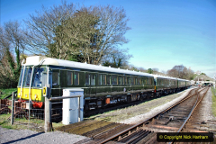 2020-03-16 The Swanage Railway. (9) The restored 3 car DMU back on the SR. 009