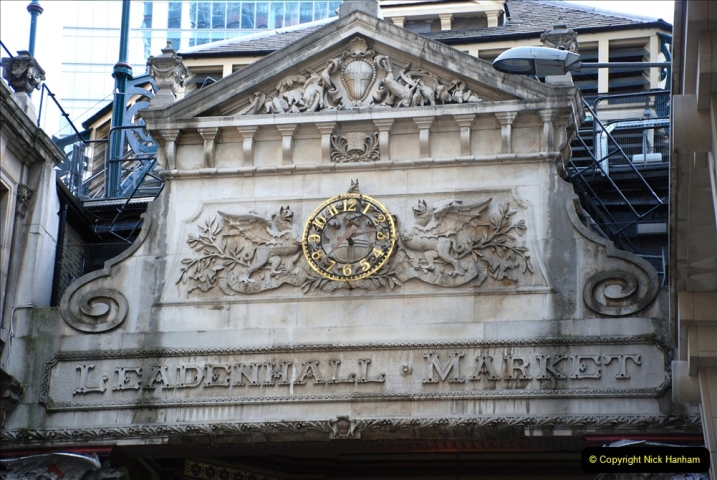 2019-05-12 Touring Central London Day 1. (146) Leadenhall Market. 146
