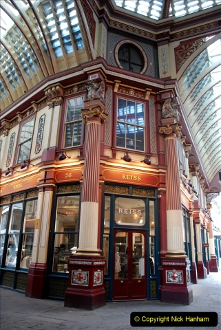 2019-05-12 Touring Central London Day 1. (147) Leadenhall Market. 147