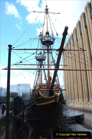 2019-05-12 Touring Central London Day 1. (174) The Golden Hind. 174