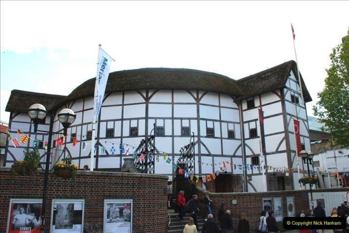 2019-05-12 Touring Central London Day 1. (180) The Globe Theatre. 180