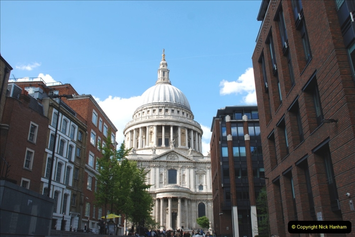2019-05-12 Touring Central London Day 1. (193) St. Pauls. 193