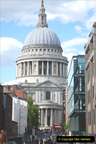 2019-05-12 Touring Central London Day 1. (194) St. Pauls. 194