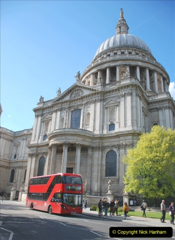 2019-05-12 Touring Central London Day 1. (197) St. Pauls. 197