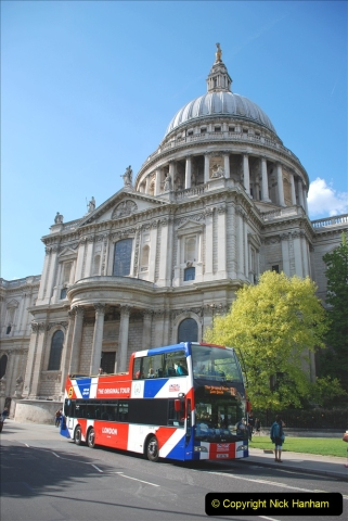 2019-05-12 Touring Central London Day 1. (198) St. Pauls. 198