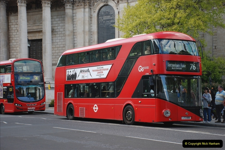 2019-05-12 Touring Central London Day 1. (206) 199