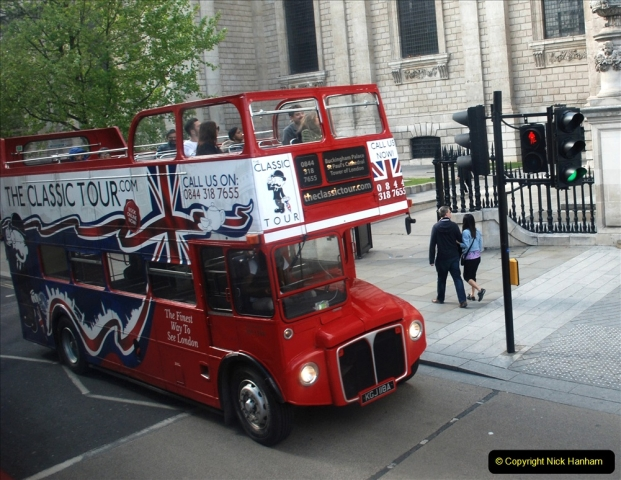 2019-05-12 Touring Central London Day 1. (210) Routemaster ride. 210